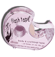 Braza Flash Tape Hanging Bag Clear 5m