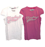 Playboy All Over Print T-Shirt Pink 12