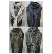 Accessory Angel Crochet High Fashion Scarf Stone…